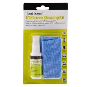 LCD screen cleaning kit with cloth