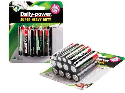batteries value pack 12 piece
