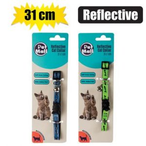 Cat collar reflective 31cm