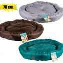 Pet bed polyester round 70cm