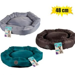 pet bed round polyester 48cm
