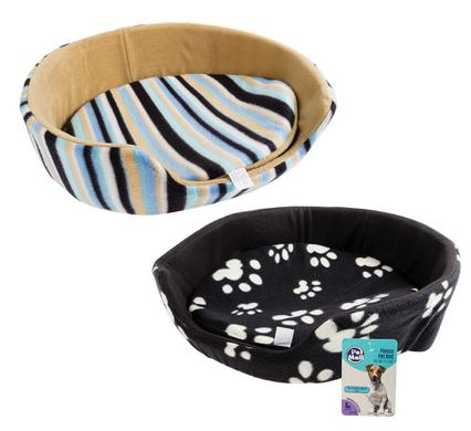 pet bed fleece with sides 50x50x17.5