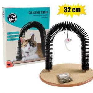 cat toy scratching arch 32cm