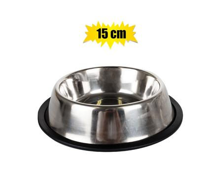 pet dog or cat bowl stainless steel 15cm