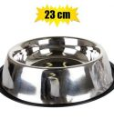Pet dog or cat bowl stainless steel 23cm