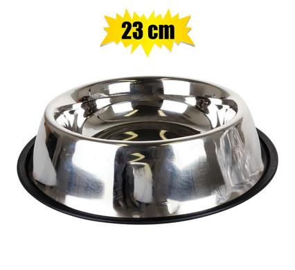 pet dog cat stainless steel bowl 23cm