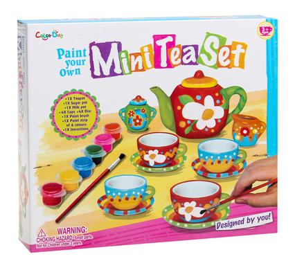 create your own tea set