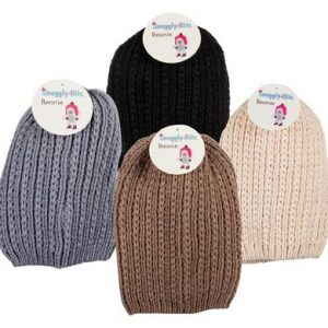large knitted unisex beanie