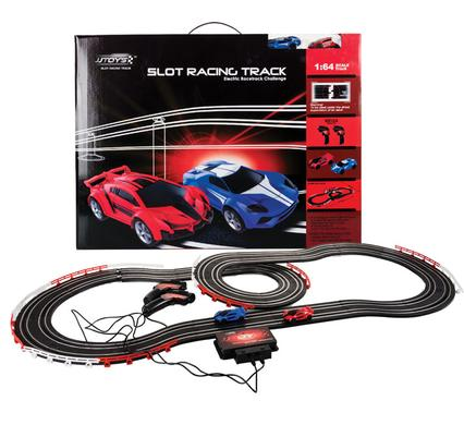 battery operated track set 380cm 52 piece