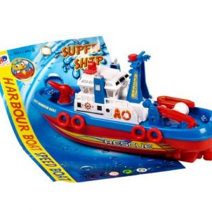 battery operated bump and go boat