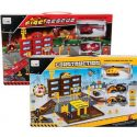Boys playset fire rescue or construction 38x25cm