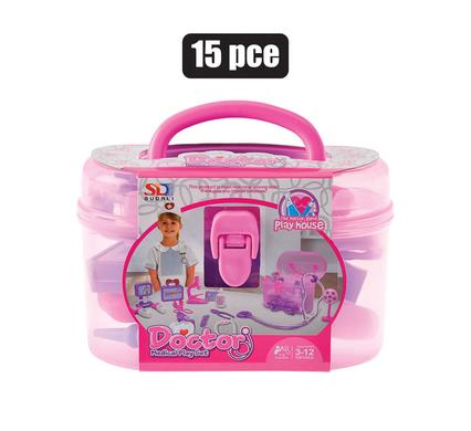 play doctor set in case 15 piece