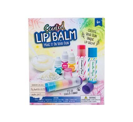 DIY make your own lip balm