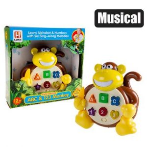 baby educational toy monkey
