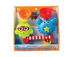 Baby bath time play set