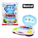 Baby educational music laptop