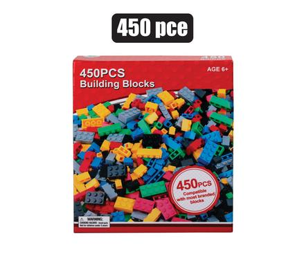 building blocks 450 piece