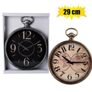 wall clock pocket watch style
