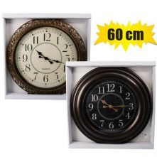 Wall clock round x-large 60cm