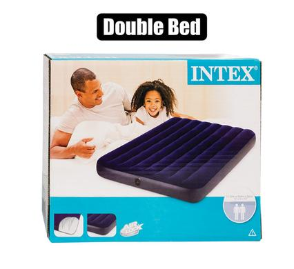 Intex air bed downy double 191x137x22cm