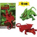 Animals stretch dragon 15cm