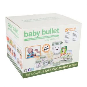 nutribullet complete baby making food set