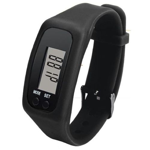 Digitime mens pedometer digital watch black 500x500