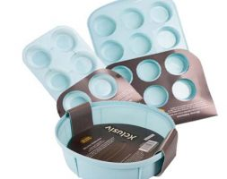 Silicone baking pan combo set