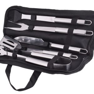 stainless steel braai set